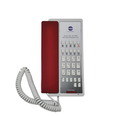 Single Line or Two Line Speakerphone Comply with SIP protocols Single Hi-Speed Port ™ Ethernet Port 1-Touch, easy-to-use 'one-touch' permanent memory keys – 10/5/3/0 key variations Full Length faceplate area for branding and dialling instructions Message waiting indicator compatible with all major hospitality PBXs EZ Message Light ™, MWL with message retrieval functionAutoConnect ™, Busy tone disconnected automatically PrivacyGuard ™, Last dialed number is erased after 5 minutes TDM (Analog) and VoIP (SIP) Models Speaker and Handset Volume three-step adjustable Mute, Volume, Redial, Flash, Hold Dual USB charging ports optional